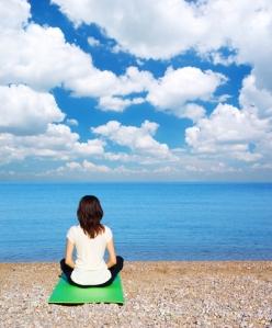 blue sky meditation