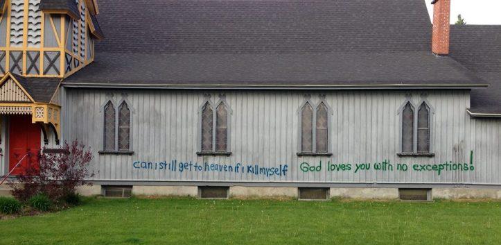 Grace Episcopal Church, Randolph, NY. May 21, 2013