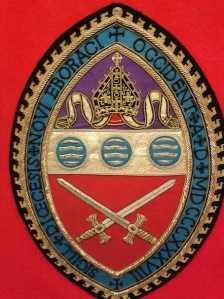 This is the shield of the Episcopal Diocese of WNY. Isn't it nifty?